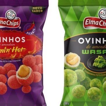 ELMA CHIPS lança novos sabores de Ovinhos